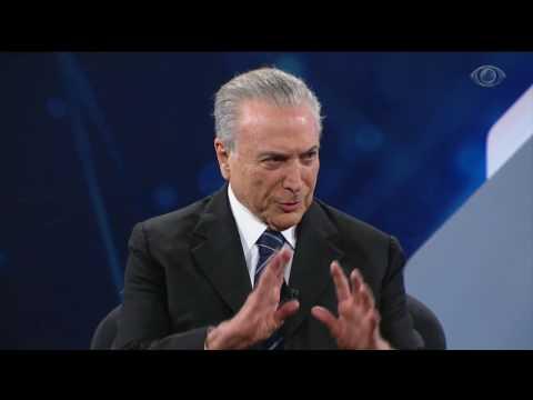 Entrevista Michel Temer - Parte 1