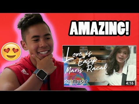 Maris Racal - Love Is Easy (Official Music Video) REACTION! LONG TIME NO SEE....