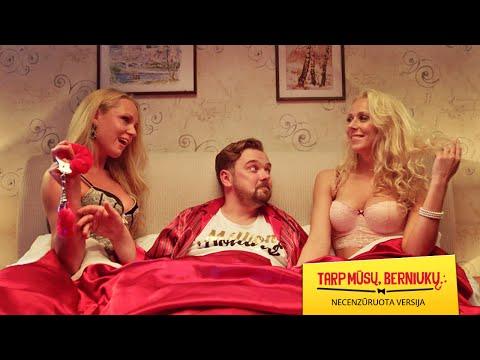 Komedija TARP MŪSŲ, BERNIUKŲ... (2016): necenzūruotas 2'49 min. treileris