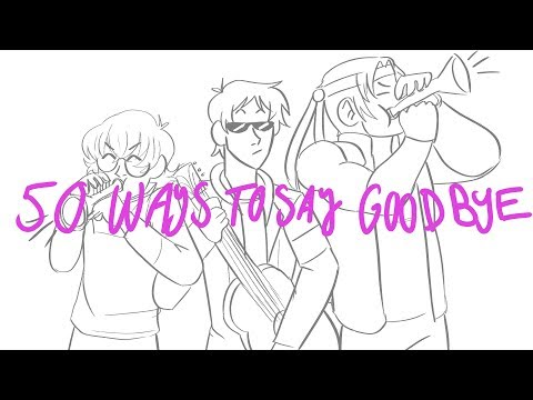 50 Ways to Say Goodbye- Voltron Shadam/Adashi Animatic