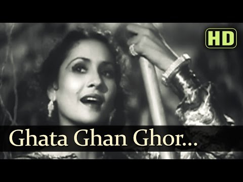 Ghata Ghan Ghor Ghor - Tansen Songs - Khursheed Hits - Hindi Old Songs