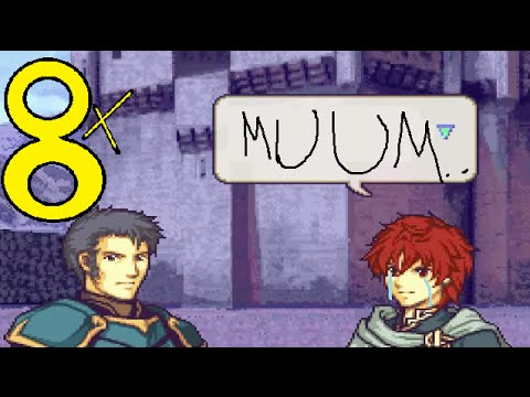 Fire Emblem 7 hack: Death or Glory, chapter 8x: Sorry mum, I'm out.