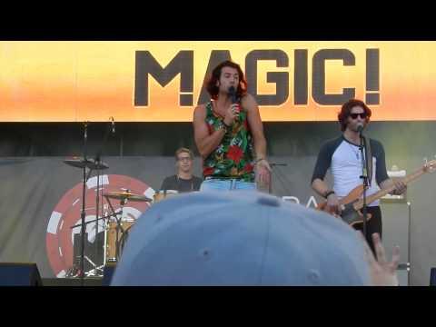 Nasri of Magic Live @ iHeartRadio Festival Village 2014