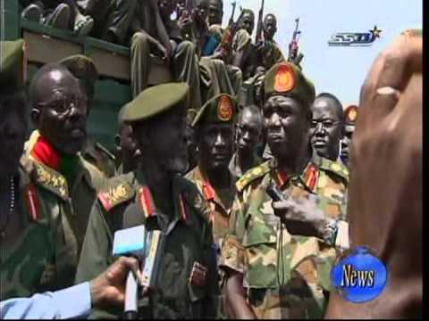 قائد مليشيا من جنوب السودان يتحدث الى South Sudan TV