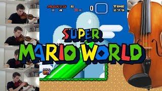 Super Mario World sound FX on Violin