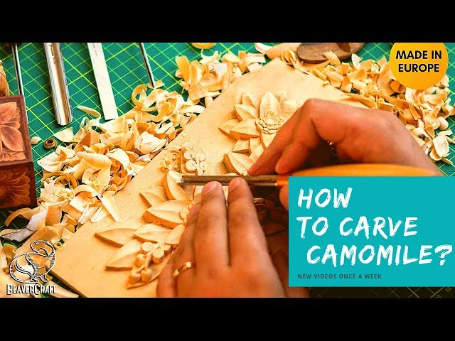 How to Carve a Flower? 🌼 Easy Wood Carving for Beginners I Part 1