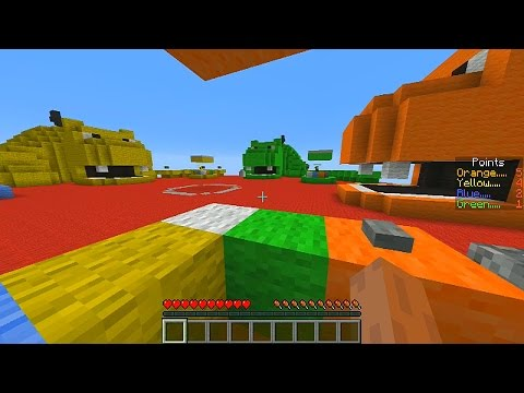 Minecraft 1.8 Mini-Game: HUNGRY HIPPOS #1 with Vikkstar, Choco, Pete & Nooch