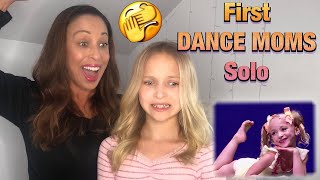 Reacting to my First Dance Moms Solo at the ALDC ft. my MOM! #dancemoms #aldc
