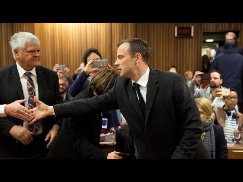 Oscar Pistorius given six year sentence for murder