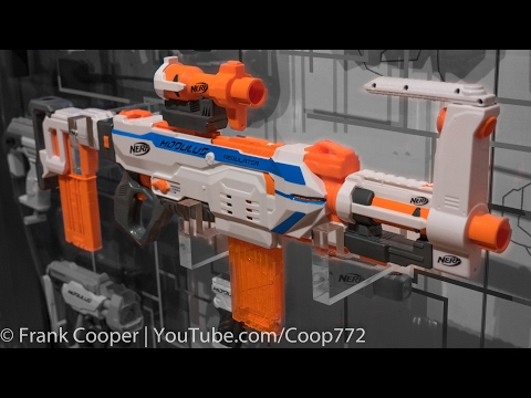 Nerf Modulus Regulator | Toy Fair Demo & Analysis