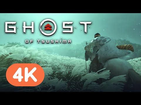 18 Minutes Of Ghost Of Tsushima Gameplay (Full 4K Presentation)