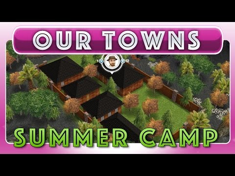 Sims FreePlay - Preteen & Teen Campground / Summer Camp (Original House Design)