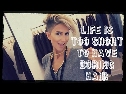 A day at the hair salon with UNI_UNICORN | Short Hair Style | Pixie Haircut | Lionel Renard
