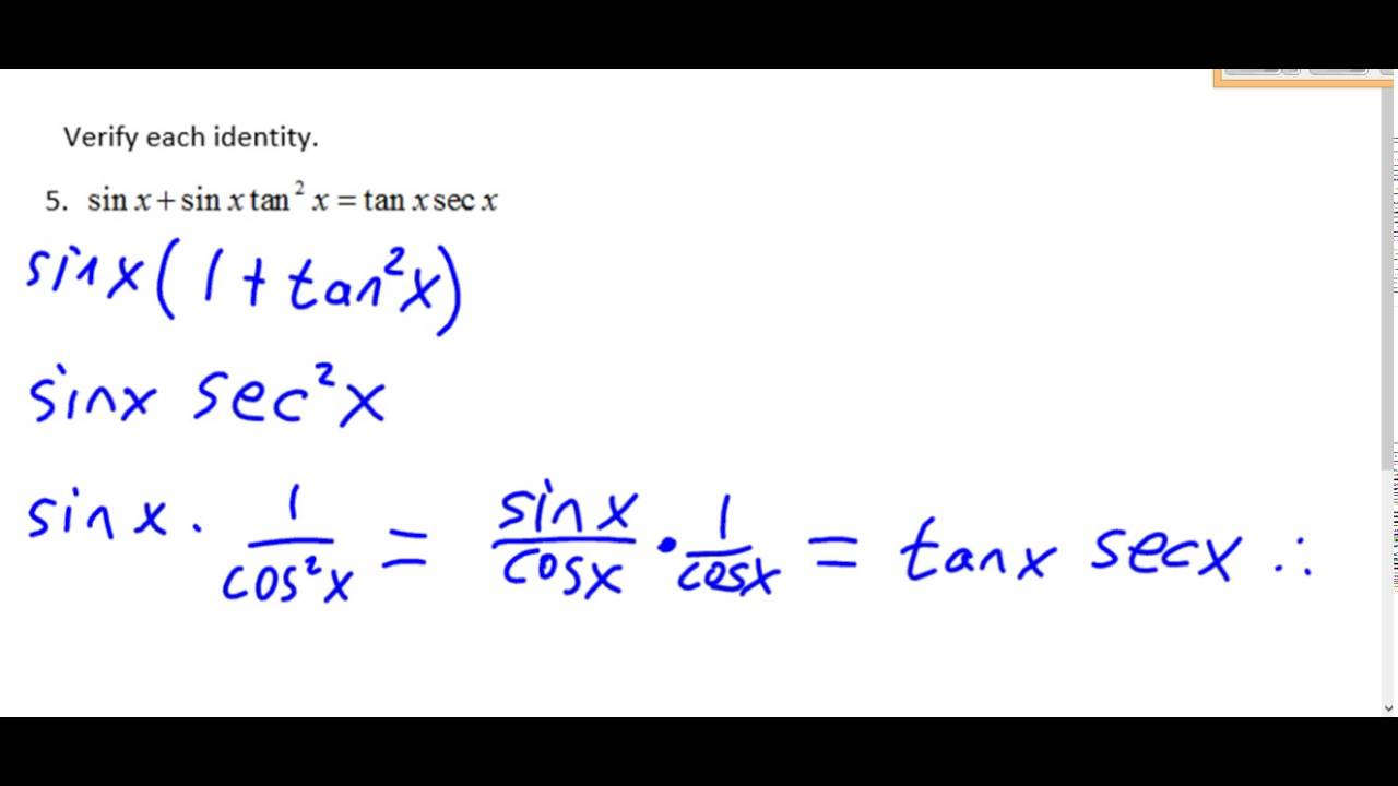 Pre Calculus Chapter 5 Review 1-8