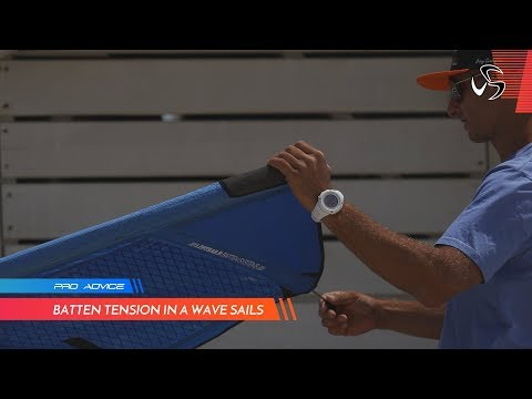 PRO ADVICE | Batten tension in a wave sail | Diony Guadagnino