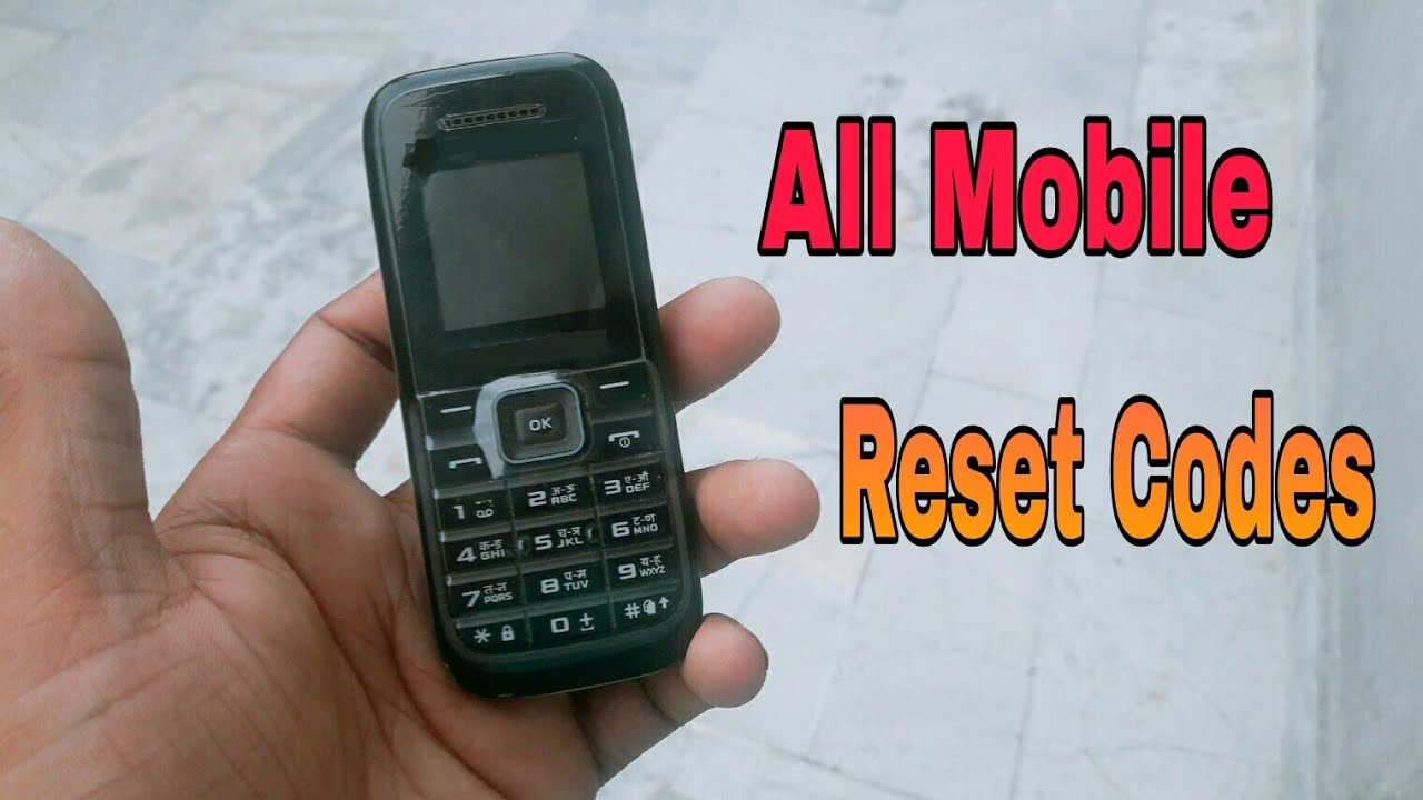 How To Reset All Mobile Phones|All Codes|By Pure Tech