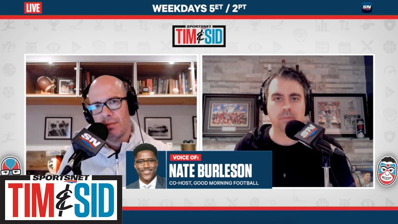 Nate Burleson Offers His Perspective On Social Unrest In America | Tim & Sid