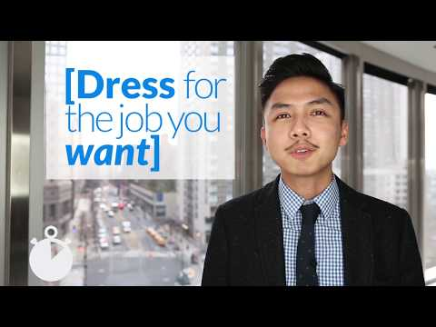 Episode 2 | The 60 Second Career Coach: Dress For The Job You Want