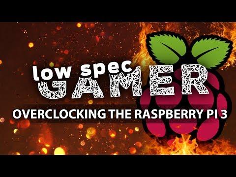 Overclocking the Raspberry Pi 3