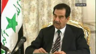 Tony Benn's interview with Saddam Hussein 4th February 2003 (Part 1 of 3)