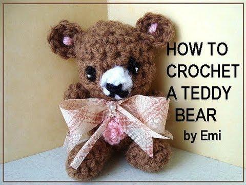 How To Crochet A Teddy Bear Youtube