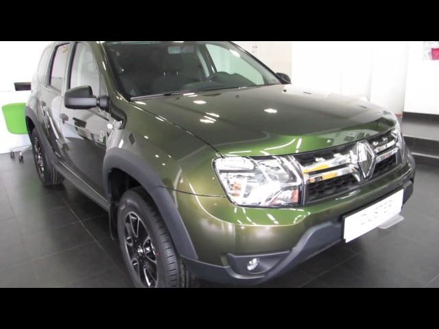 Renault Duster спецверсия-ДАКАР