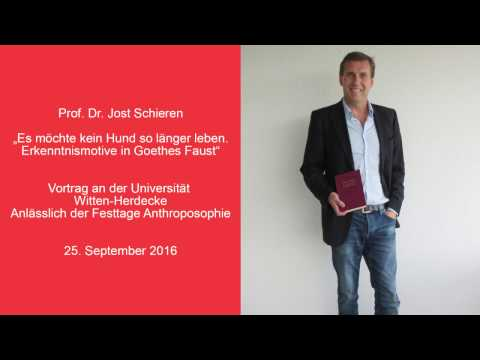 Jost Schieren - Erkenntnismotive in Goethes Faust