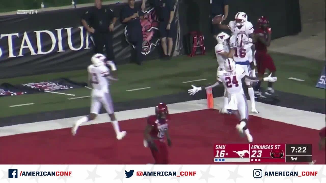 SMU Takes Road Win Against Arkansas State, 37-30 - American