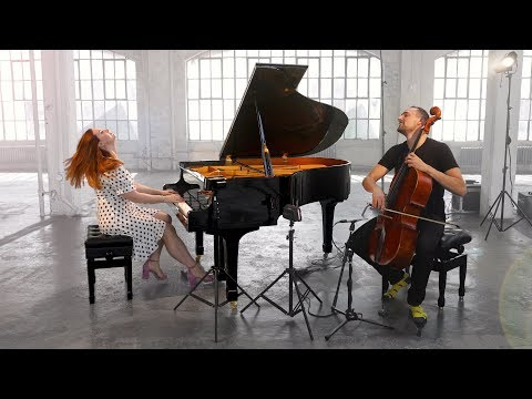 Yellow - Coldplay (CELLO & PIANO) [Brooklyn Duo]