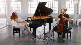 Yellow - Coldplay (CELLO & PIANO) [Brooklyn Duo]