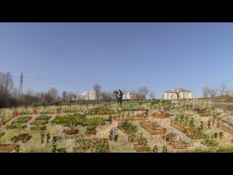 les jardins pédagogiques de Bio Cultura à Roanne - Fabrique AVIVA 2017