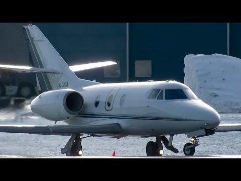Air Nunavut Falcon 10 (FA10) departing Montreal (YUL/CYUL)