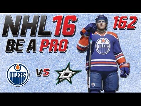 NHL 16 [Be A Pro][60fps][Deutsch] #162 - Edmonton Oilers - Dallas Stars ★ NHL 16