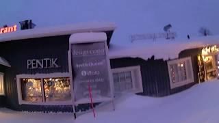 フィンランド旅行の映像です。 午前11時、宿泊エリアからスーパーマーケ...