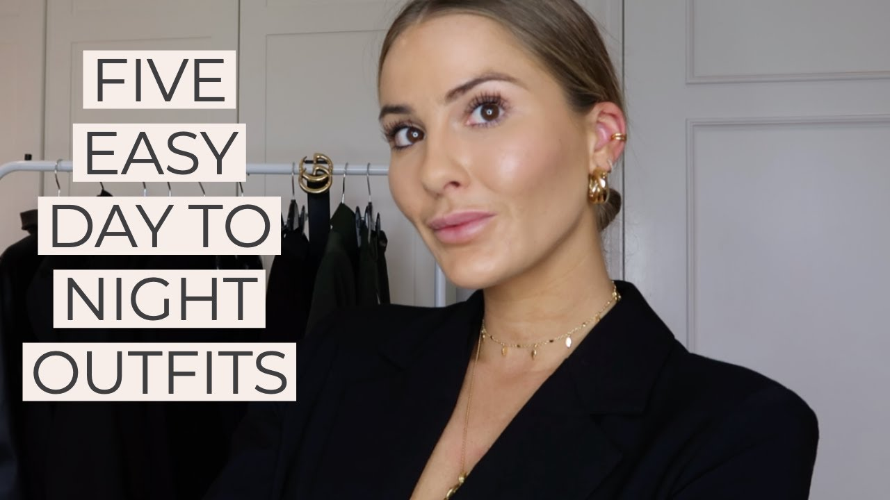 [VIDEO] - 5 EASY DAY TO NIGHT OUTFITS + JEWELLERY | NADIA ANYA Ad 5