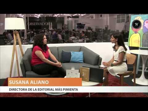 Susana Aliano, directora de la editorial Más Pimienta