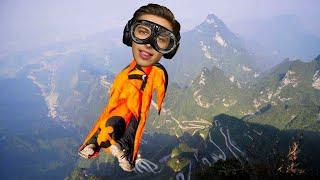 Letím jako netopýr