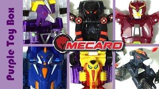 33기 터닝메카드 로봇에서 자동차로 변신 그리핑크스 바벨 장난감 mecard robots transforming to mini cars 퍼플토이박스