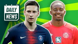 Mateta in die PL? SGE-Rekordtransfer? Was wird aus Draxler? Portugal gewinnt die Nations League!