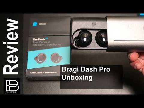 NEW 2017 Bragi Dash Pro Unboxing Headphone That Track Fitness And Translate Languages In Real Time
