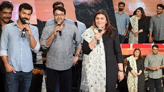 Mohanlal,Suchithra Mohanlal And Pranav Mohanlal First Time On Stage