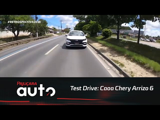 Retrospectiva 2020: Reveja o test drive do Caoa Chery Arrizo 6