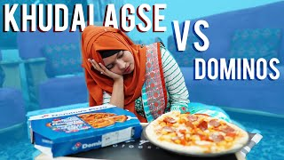 I AM FASTER THAN DOMINOS?? 😱 | Food Challenge