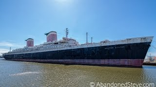 Exploring Decaying SS United States Ocean liner Ship