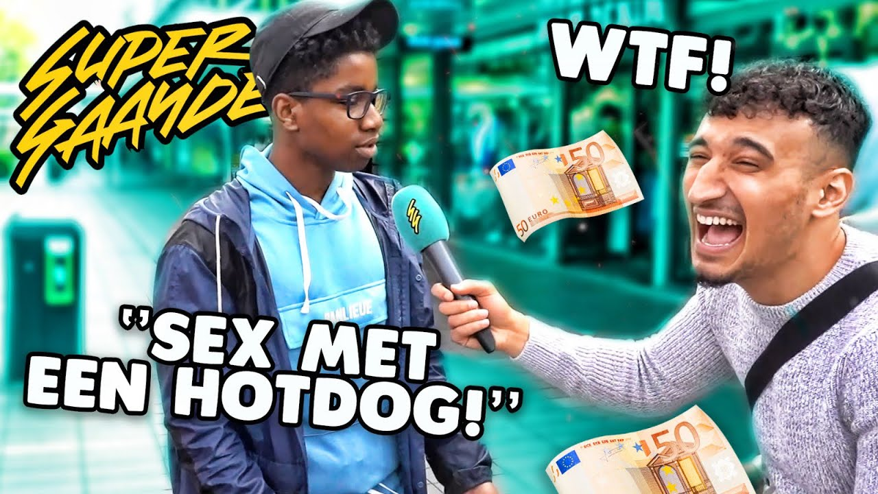 RAP EEN VERSE FOUTLOOS EN WIN €50  (ROTTERDAM) - SUPERGAANDE INTERVIEW
