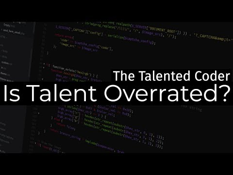 The Talented Coder - Coding Motivational Video