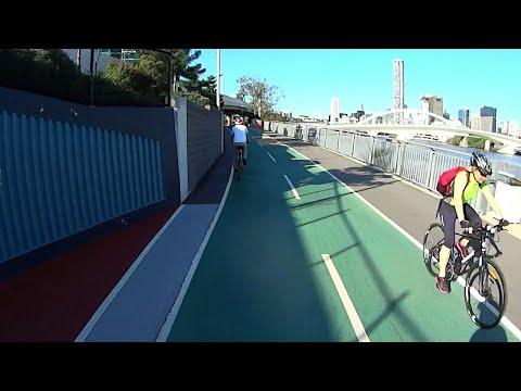 Cycling Brisbane 50km River City Loop