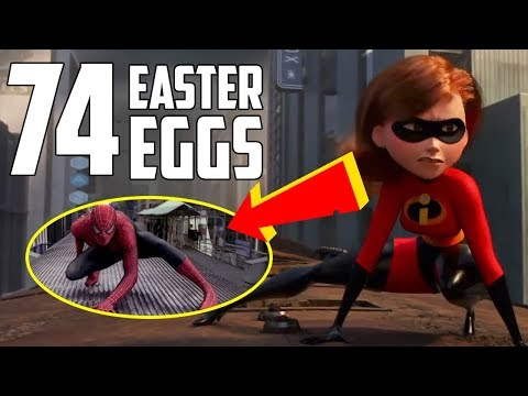 Incredibles 2 - Every Easter Egg and Pixar Reference en streaming