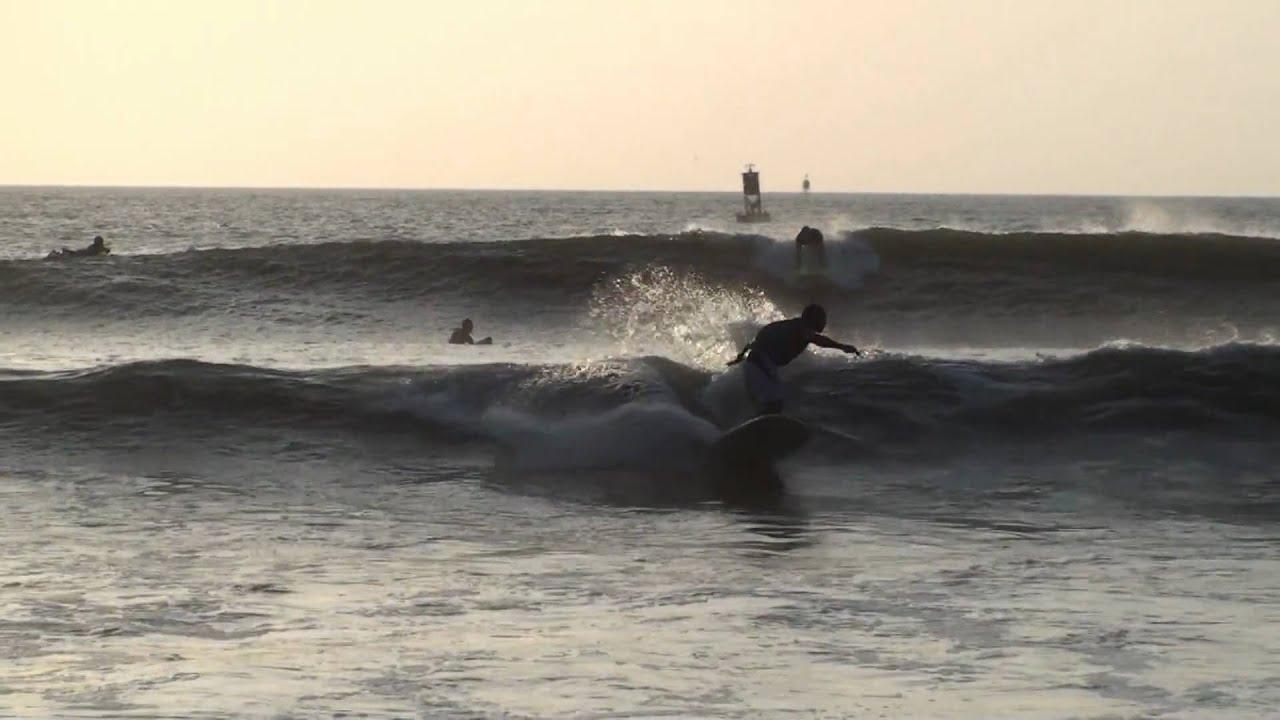 Surfing In Virginia Beach 1st Street Jetty Vabeach