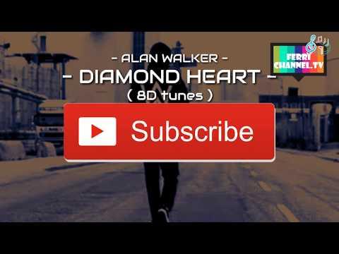 Alan Walker - Diamond Heart ( 8D Audio )